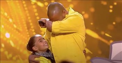 Father-Daughter Dance Audition Earns Coveted Golden Buzzer