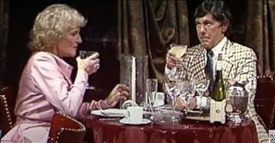 Betty White And Johnny Carson Star In Classic Malibu Restaurant Sketch