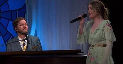 'His Eye Is On The Sparrow' David Phelps With Maggie Beth Phelps
