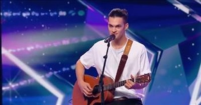 Ed Sheeran Soundalike Earns The Golden Buzzer With 'Perfect' Audition