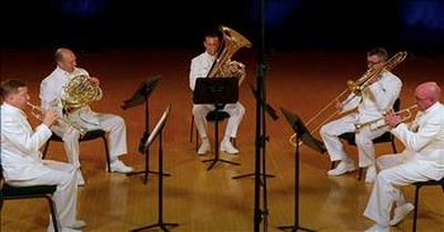 U.S. Navy Band Performs 'America The Beautiful'