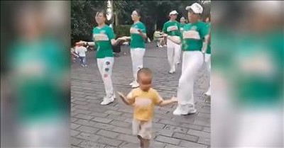 3-Year-Old Shows Off Incredible Dance Moves