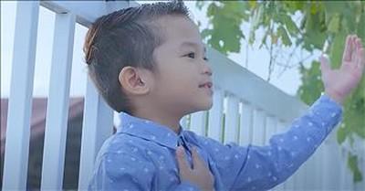 5-Year-Old Sings 'Precious Lord Take My Hand' Classic Hymn