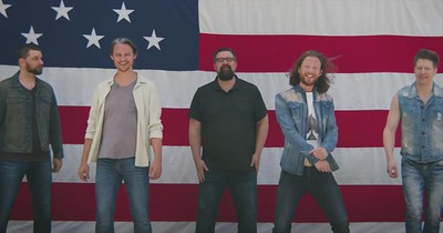 """Five A Cappella Men Sing """"Land Of The Free"""""""