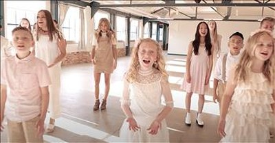 Children's Choir Sings 'A Million Dreams' From The Greatest Showman