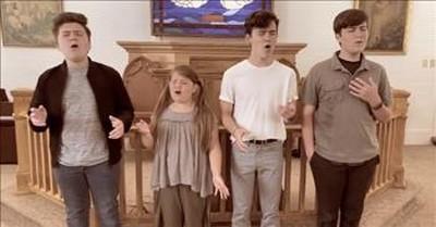 4 Siblings Sing 'How Great Thou Art' In Church