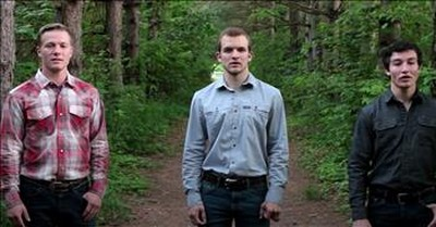 Trio Of Men Sing 'Without Him' Worship Song