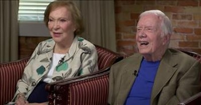 Jimmy And Rosalynn Carter Share The Secret To Their 75-Year-Long Marriage