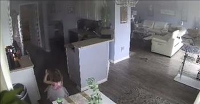 4-Year-Old Saves The Day After Alerting Dad To Air Fryer Fire