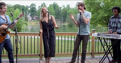 4 Friends Sing Energetic 'Signed, Sealed, Delivered' Cover