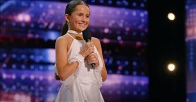13-Year-Old Breez Carver Dances To 'Piece By Piece' And Pulls At All Our Heartstrings