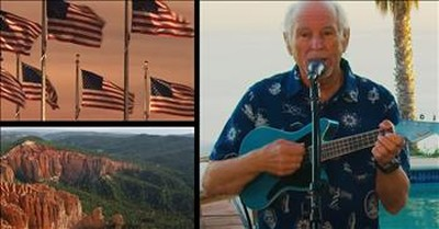 Jimmy Buffet Performs Unique Rendition Of 'This Land Is Your Land'