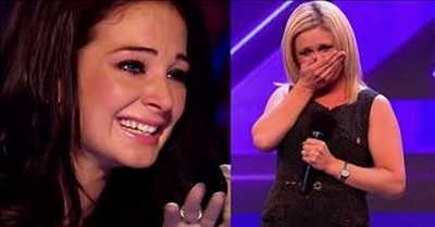 Judge Cries After Contestant's Heartfelt Audition Reminds Her Of Her Mother