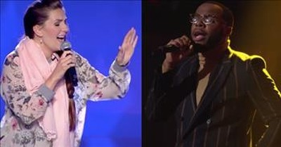 5 Blind Auditions That Sound Just Like Famous Singers
