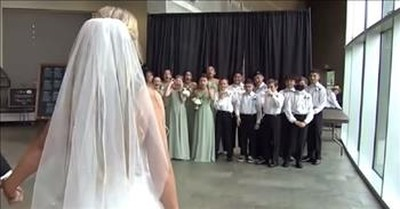 Teachers Ask Students To Be Bridesmaids And Groomsmen In Their Wedding