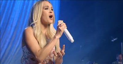 'Because He Lives' Carrie Underwood Sings Classic Hymn