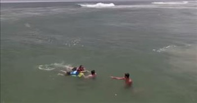 18-Year-Old Saves Mom And Son Caught In Deadly Rip Current