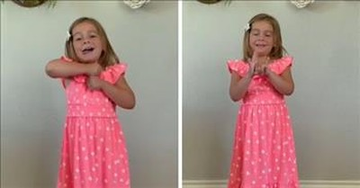 Little Girl Signs Lauren Daigle's 'You Say' And My Heart Is Soaring