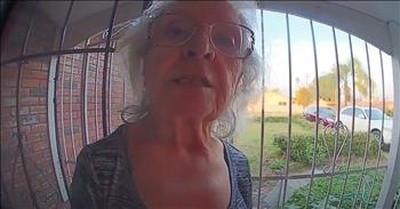 Her Adult Son Wouldn't Answer The Phone, So Mom Left A Message On His Video Doorbell