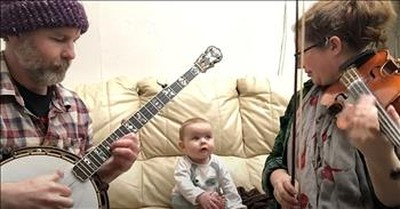 Baby Loves When Mom And Dad Play Bluegrass Music