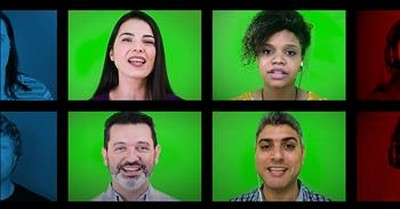 A Cappella Choir Sings 'Hide Me Away, O Lord' In 5 Different Languages