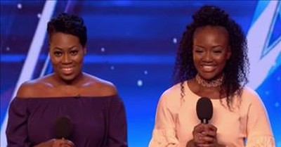 Simon Calls Their Mom After Sisters Secretly Audition For BGT