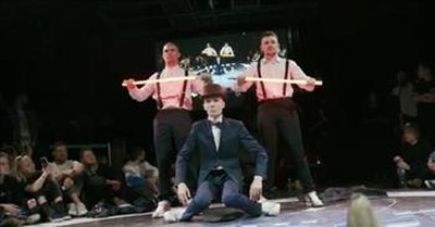 Russian Robotic Dance Mesmerizes The Internet