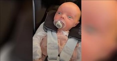 Baby Is In Complete Shock After Seeing A Dog For The First Time