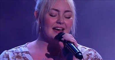 Hillsong's Bella Taylor-Smith Earns 4 Chair Turn On The Voice Australia