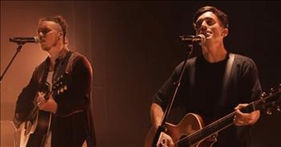 'Where I'm Standing Now' Acoustic Performance From Phil Wickham And Brandon Lake
