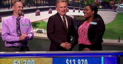 Wheel Of Fortune Contestant Guesses Wrong Letters To Let Fellow Veteran Win