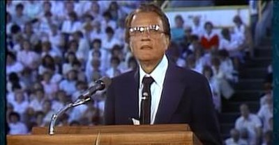 Billy Graham Sermon Asks Will You Run From God Or Towards Him?