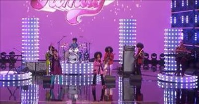 AGT Family Band Performs 'Love Train' And It's Taking Us Back In Time
