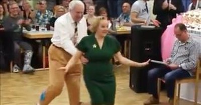 Dancing Partners Of 60 Years Can Still Cut A Rug In Competition