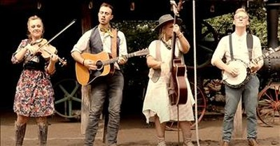 Southern Raised Bluegrass Covers 'Ghost Riders In The Sky'