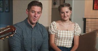 Father-Daughter Duet To 'Edelweiss' From The Sound Of Music
