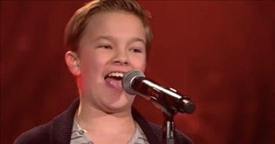 12-Year-Old's 'Can't Help Falling In Love' Audition Wins Over The Judges