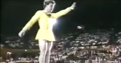 Coach Performs Hilarious Gymnastics Comedy Routine
