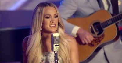 'Victory In Jesus' Carrie Underwood Performs Hymn Live At The Ryman