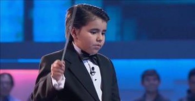 Pint-Sized Conductor Puts On A Big Show