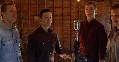 Redeemed Quartet Sings 'Leaning On The Everlasting Arms'