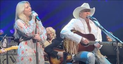 Alan Jackson And Daughter Sing Duet Of 'You'll Always Be My Baby'