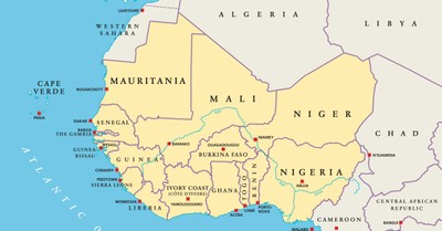 Nigeria map, Christian family wounded in Nigeria