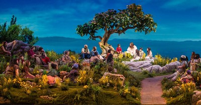Picture from the production Jesus, TBN to air encore performance of JESUS
