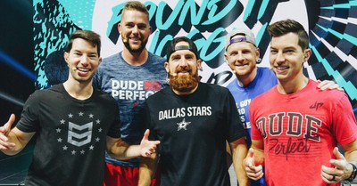 Dude perfect, Dude perfect credits Jesus for their success