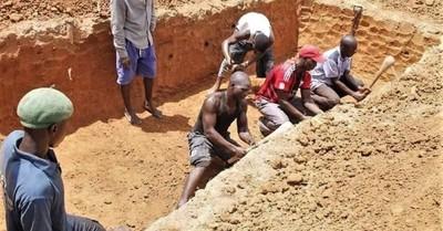 A mass grave, Radicals kill Christians across Nigeria