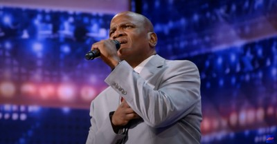Archie Williams on America's Got Talent, Williams say prayer got him through a 37 year prison sentence for a crime he didn't commit