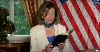Nancy Pelosi, Pelosi implores President Trump to be a Healer-in-Chief