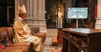 Inside the National Cathedral, The National Cathedral has layoffs