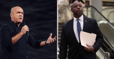 Greg Laurie and Tim Scott, Laurie and Scott talk about the need for a God solution to racism